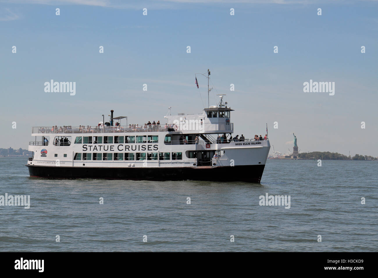 statue of liberty ferry stock photos & statue of liberty ferry stock