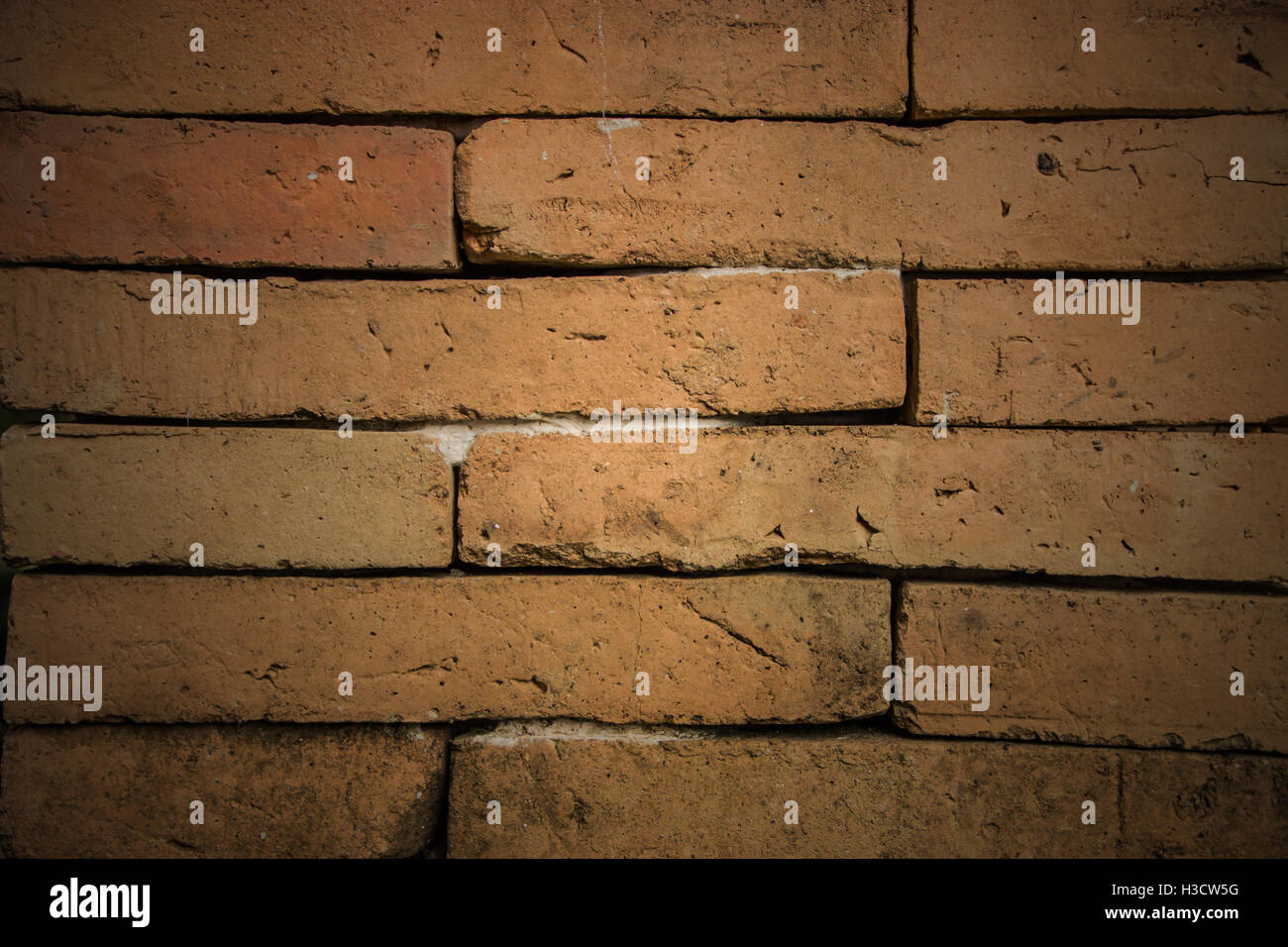 Old brick wall texture to use as background - Stock Image