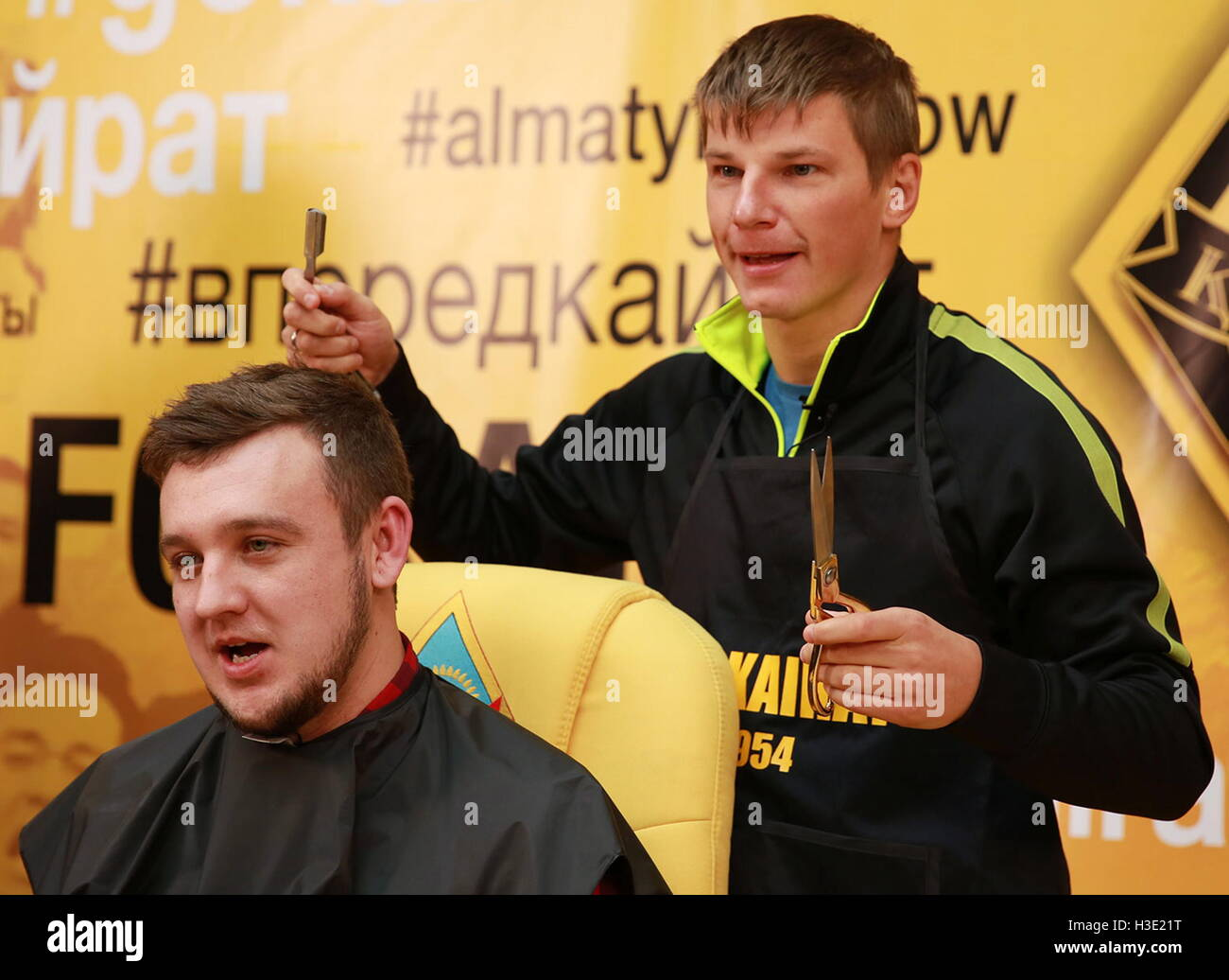 Andrei Arshavin shaved a journalist in a loser's controversy 10/06/2016 45