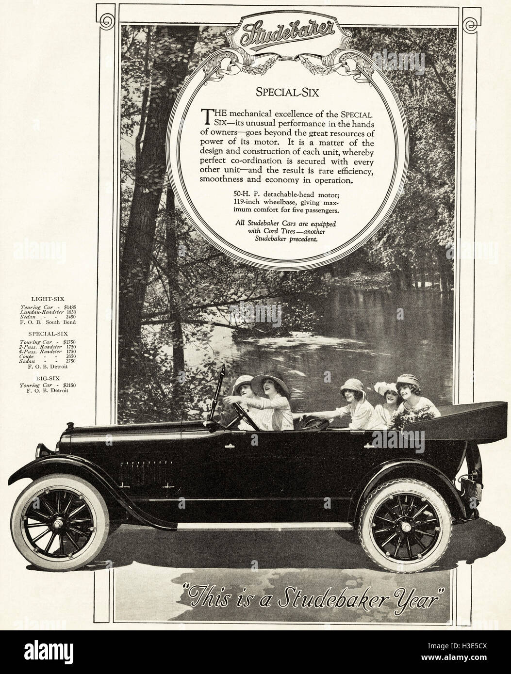 1920 advert from original old vintage American magazine 1920s Stock ...