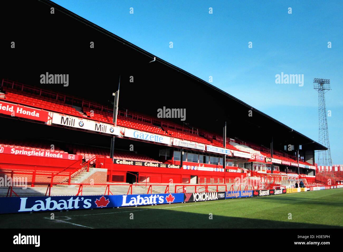 Roker Park, home of Sunderland AFC, pictured in April 1996 - Stock Image