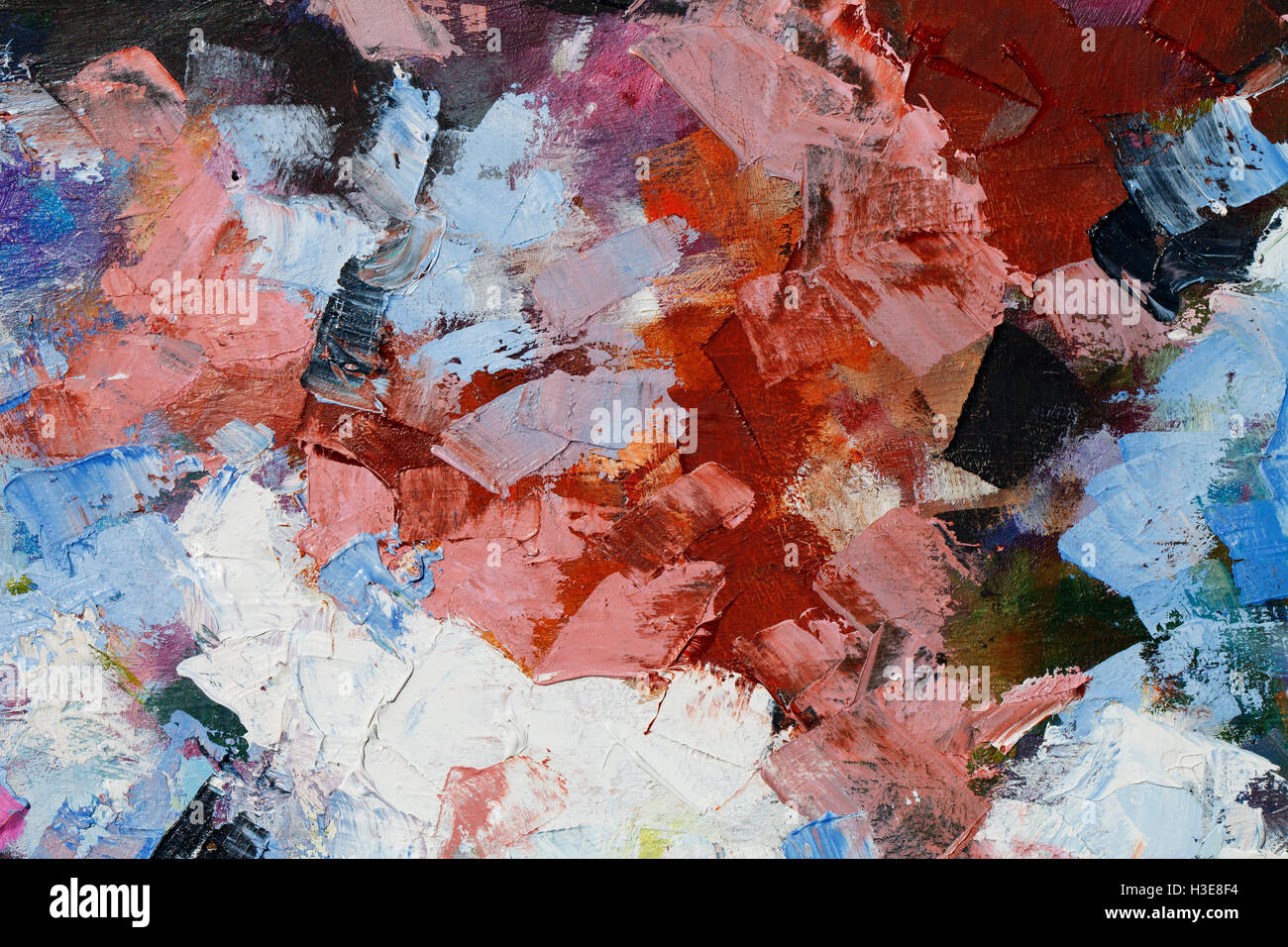 a colorful oil paint texture closeup beautiful background art