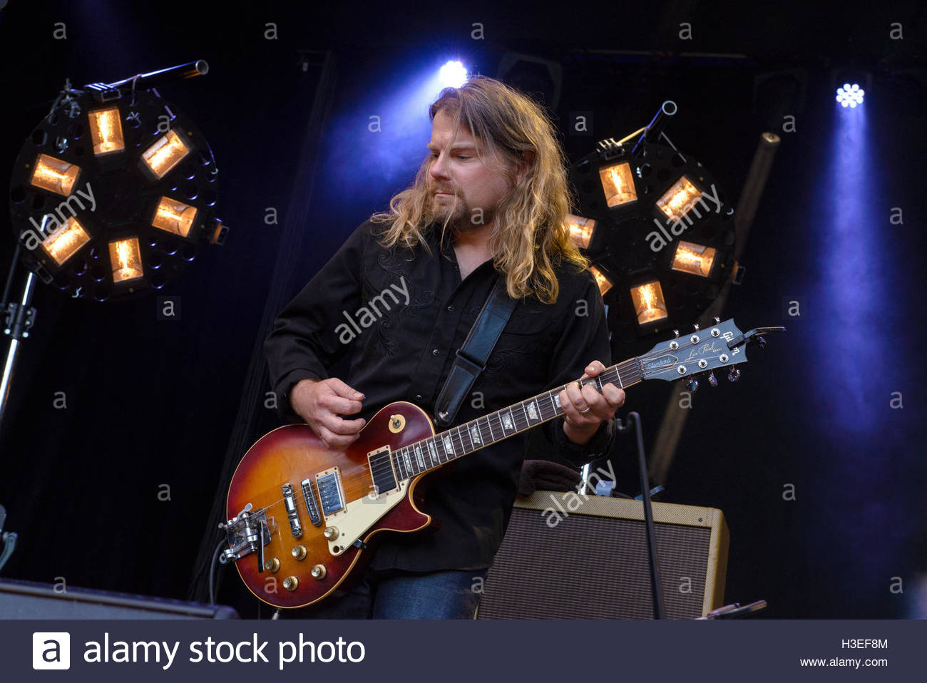 Rob Bochnik of The Frames performing live at Iveagh Gardens, Dublin ...
