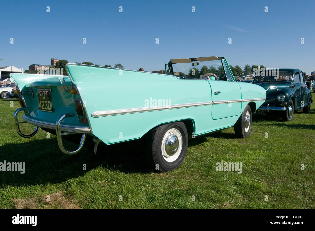 amphicar car boat amphibious vehicle vehicles Stock Photo