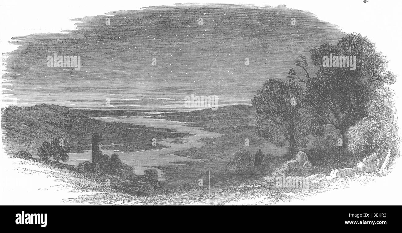 LANDSCAPES No Caption 1852. The Graphic - Stock Image
