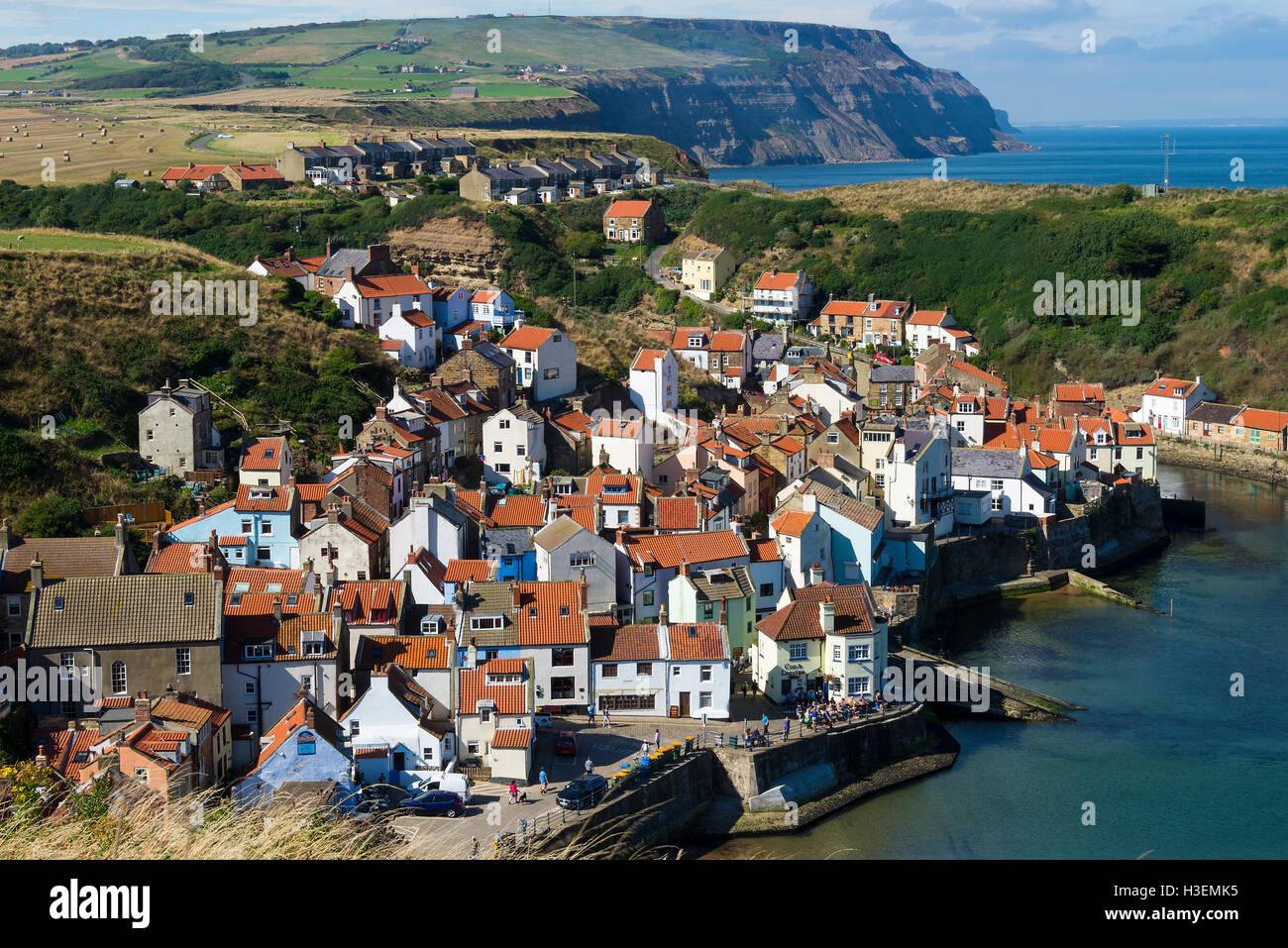 Pretty coastal villages in uk