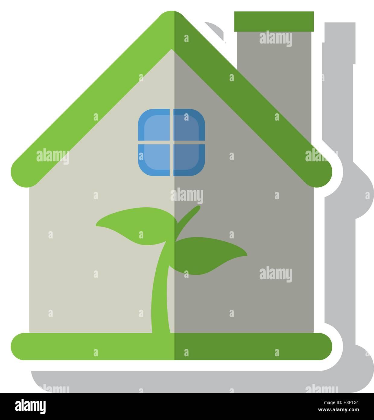 Amazing Isolated Leaf Inside House Design Stock Vector Art Download Free Architecture Designs Scobabritishbridgeorg