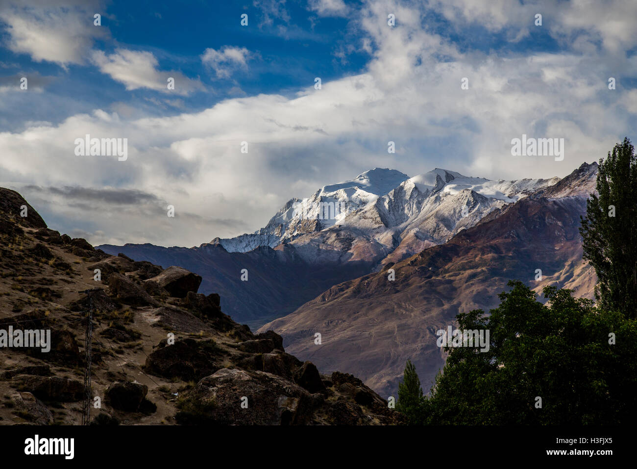 Beautiful Pakistan - Stock Image