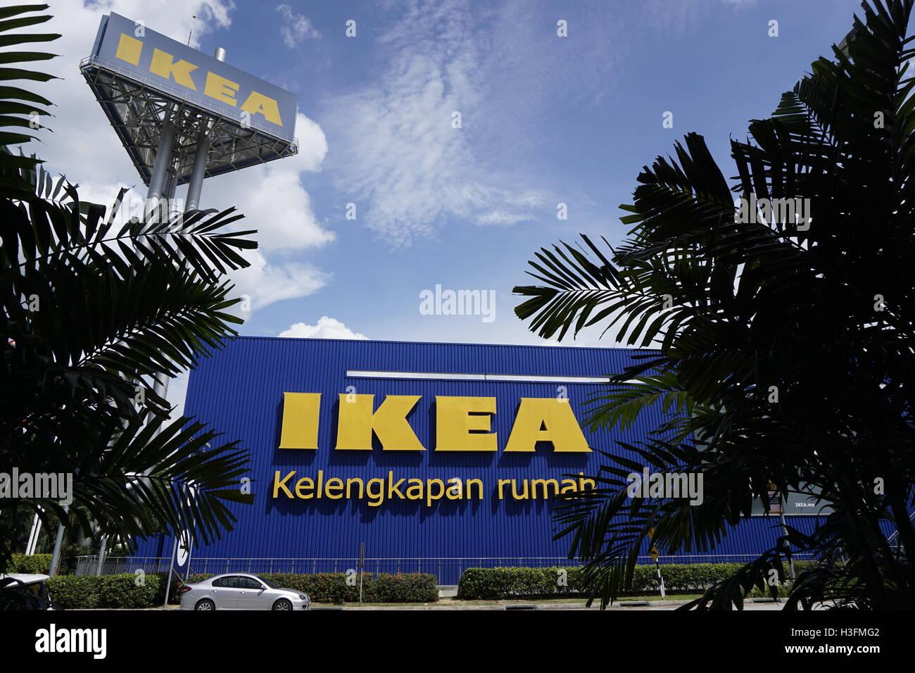 Ikea home furnishing store in Damansara, Malaysia - Stock Image