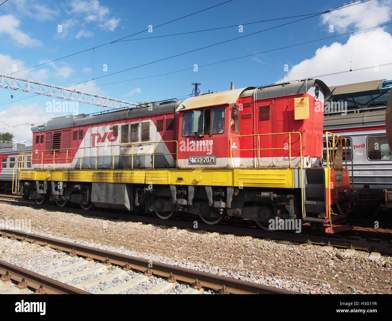 ChME3-2071 at Monino station (1) - Stock Image