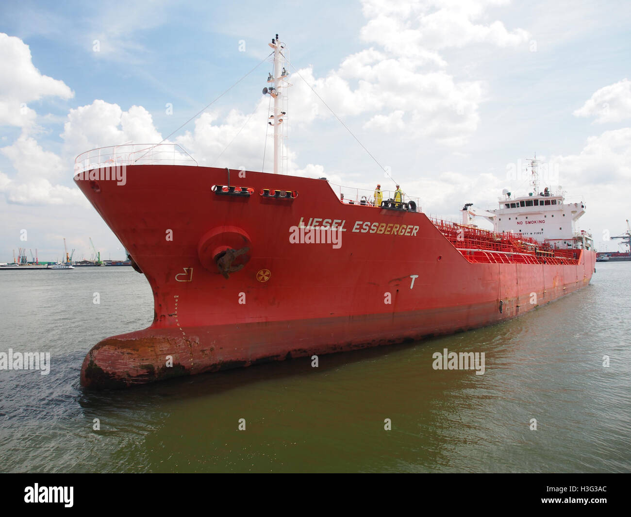 Liesel Essberger (ship, 2004) IMO 9272761, Port of Antwerp pic3 - Stock Image