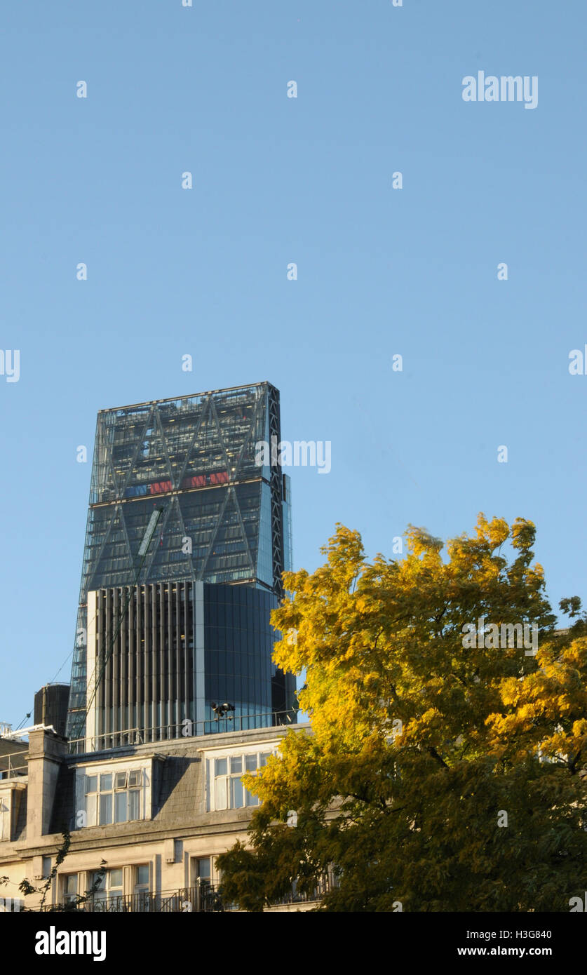 The Cheese grater skyscraper, London. - Stock Image