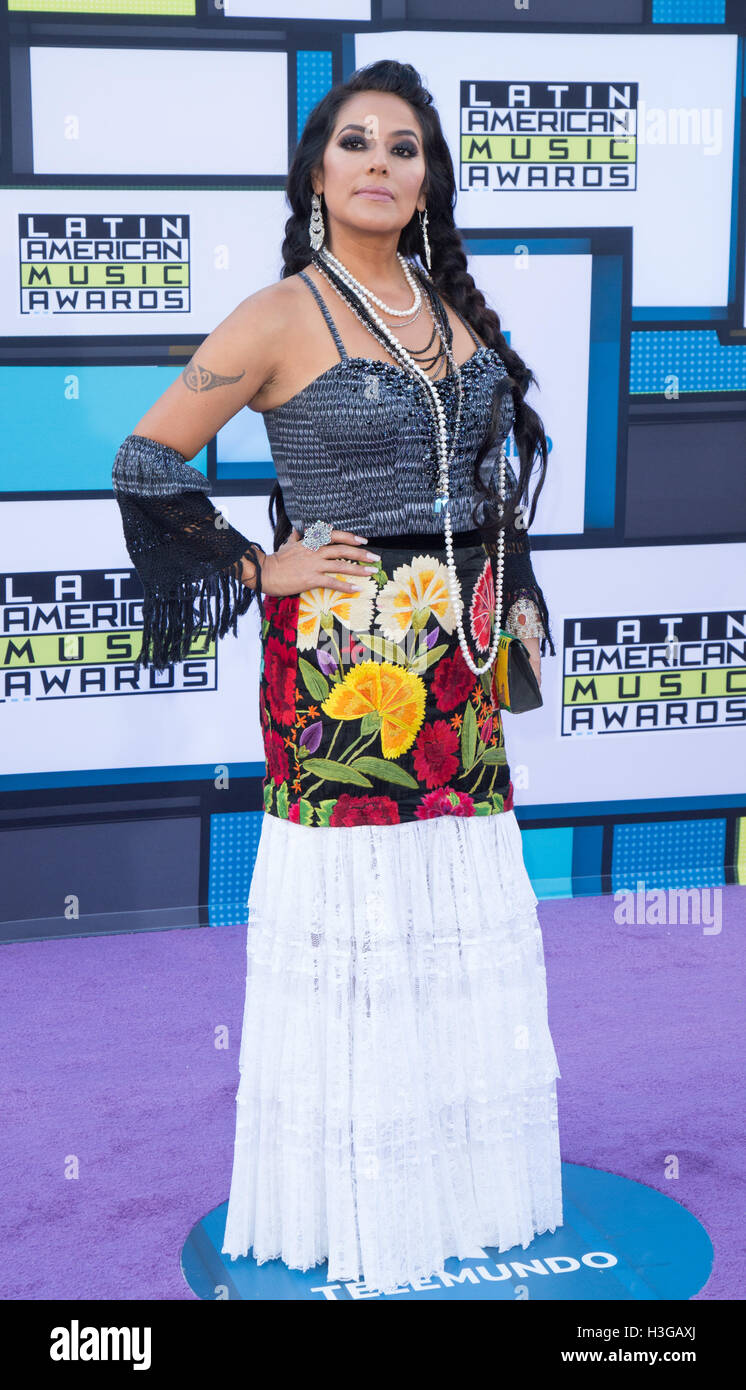 Hollywood, California, USA. 6th Oct, 2016. Lila Downs attends the 2016 Latin American Music Awards at Dolby Theatre Stock Photo
