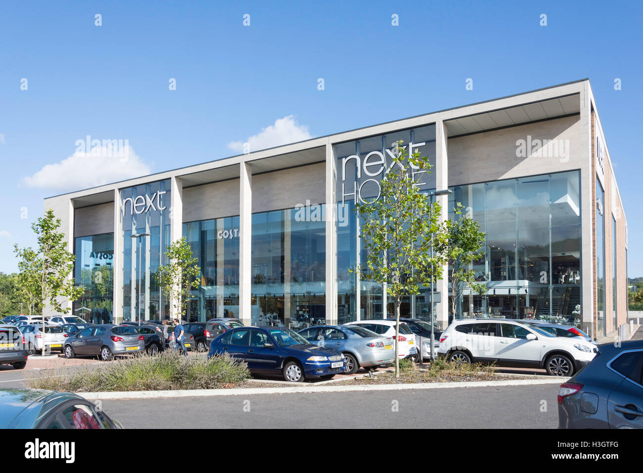 Next Fashion and Home store, Eclipse Park, Maidstone, Kent, England, United Kingdom - Stock Image