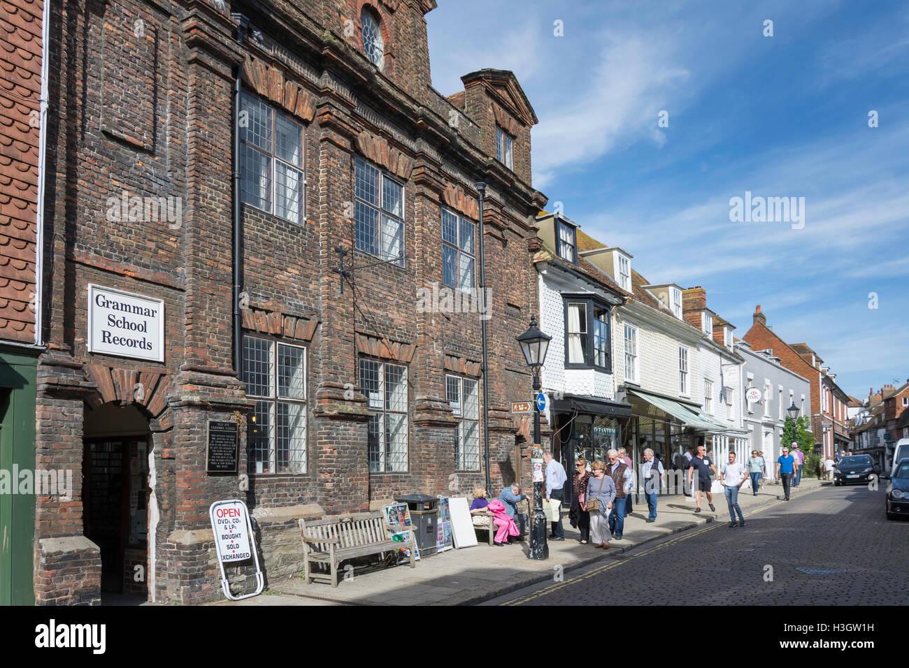 High Street, Rye, East Sussex, England, United Kingdom - Stock Image