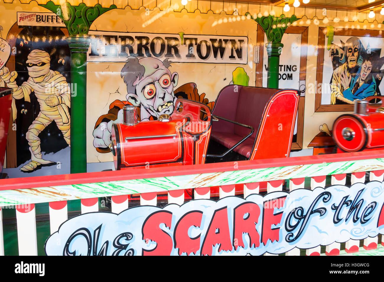 Ghost Train Ride At Carters Steam Fair The Green Englefield Green