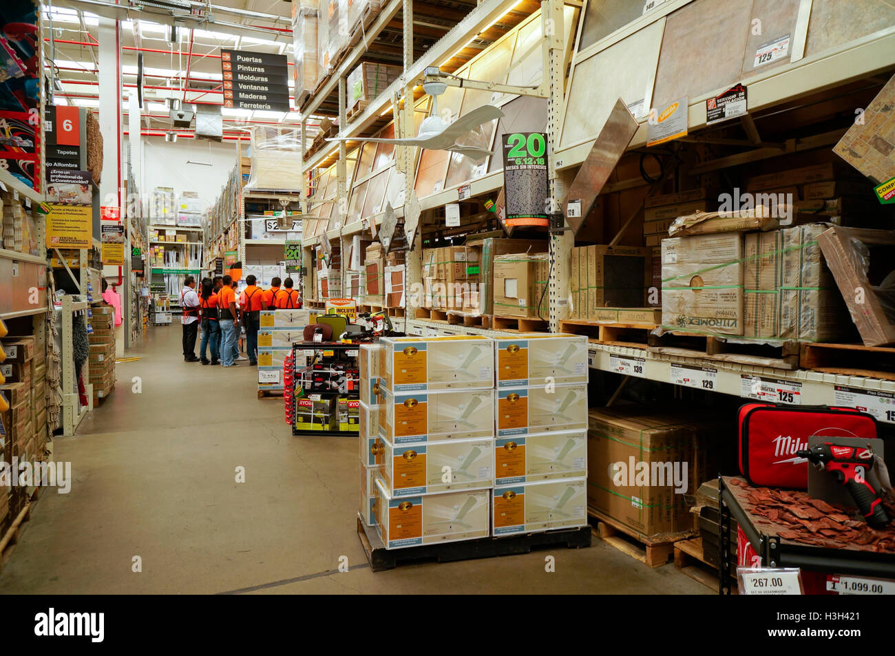 The Home Depot Store In Acapulco Mexico Stock Photo 122692921 Alamy
