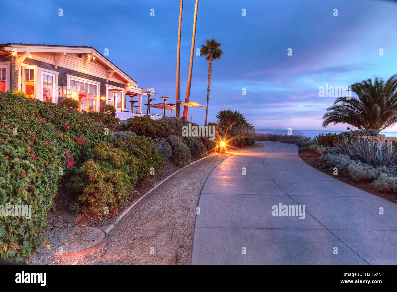 Laguna Beach Ca Usa October 7 2016 Sunset View Of