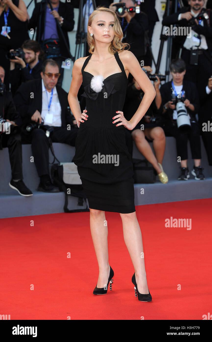 61888bc89cbf 73rd Venice Film Festival -  Planetarium  - Premiere Featuring  Lily-Rose  Depp Where  Venice