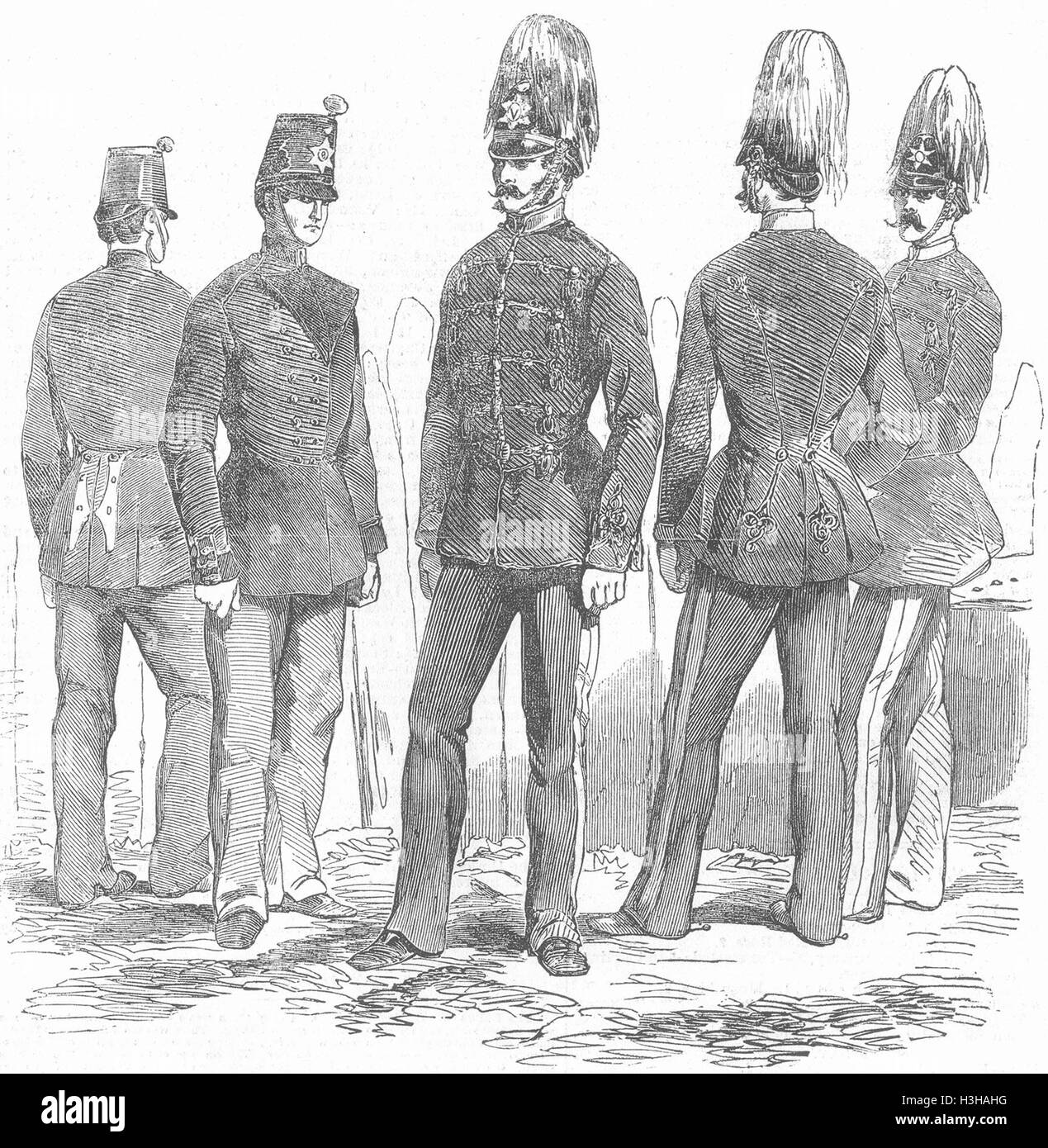 The Light Infantry Black and White Stock Photos & Images - Alamy