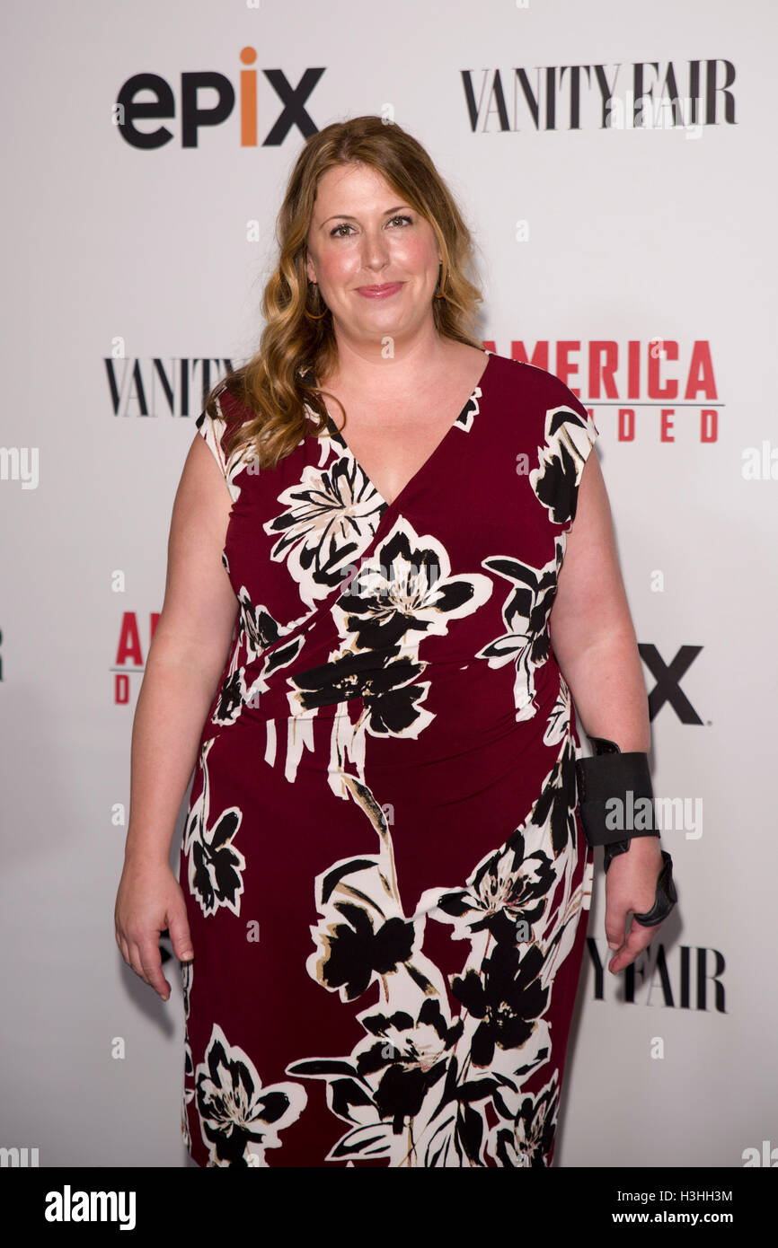 Jocelyn Diaz arrives at America Divided Premiere at the The Hammer Museum (Billy Wilder Theater) sponsored by EPIX Stock Photo