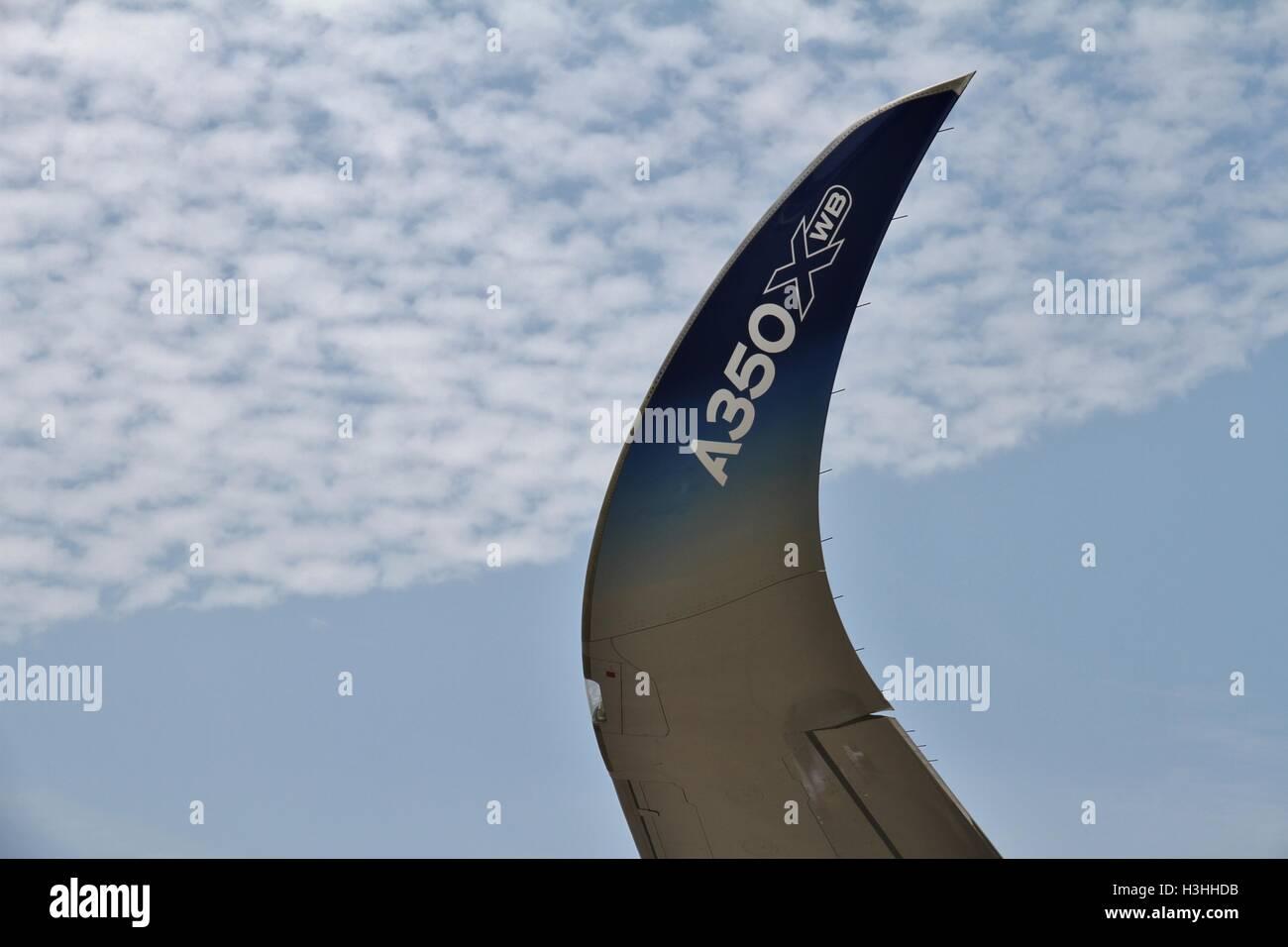 Airbus A350 XWB Winglet - Stock Image