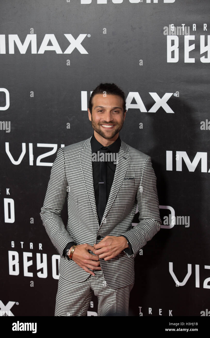 Alexander DiPersia attends Star Trek Beyond World Premier during San Diego Comic Con at Embarcadero Marina Park on July 20, 2016 in San Diego, California. Stock Photo