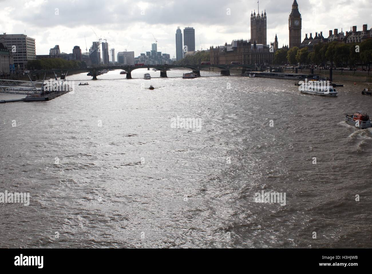 River Thames Stock Photo