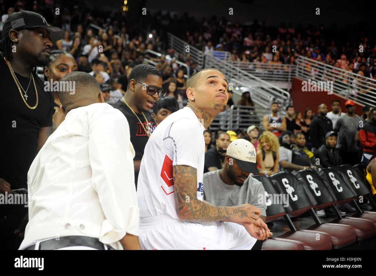 Aces Charity Celebrity Basketball Game Stock Photos and ...