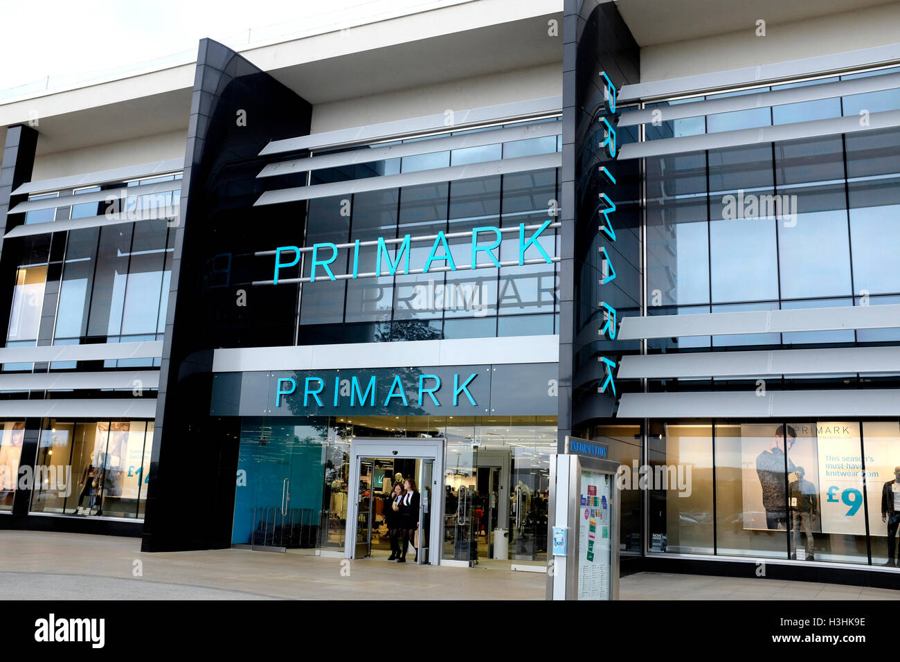 primark discount fashion chain store branch in westwood cross shopping centre east kent uk october 2016 - Stock Image