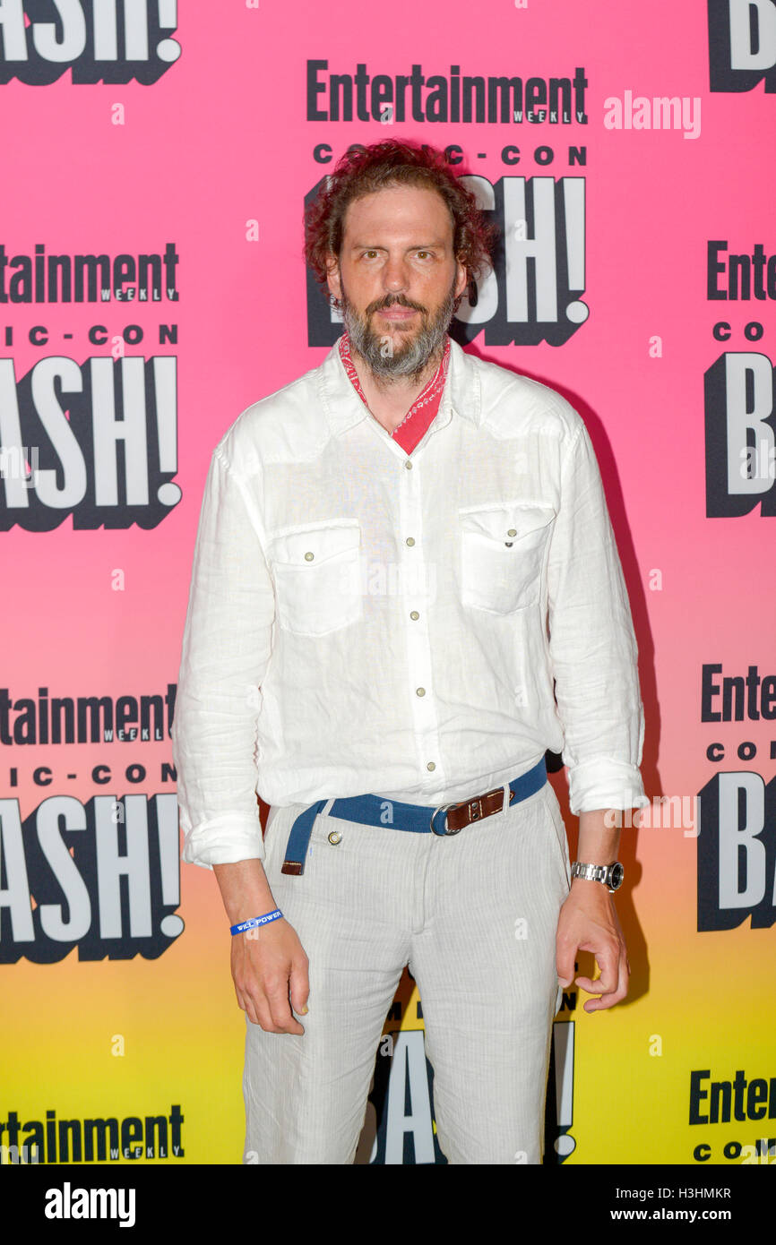 SAN DIEGO, CA - JULY 23: Silas Weir Mitchel-Grimm attends Entertainment Weekly's Annual Comic-Con Party 2016 - Stock Image