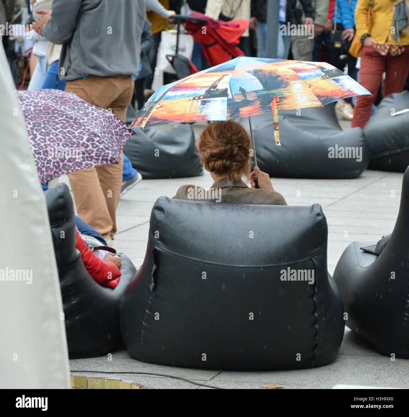 Fairs at street - Stock Image