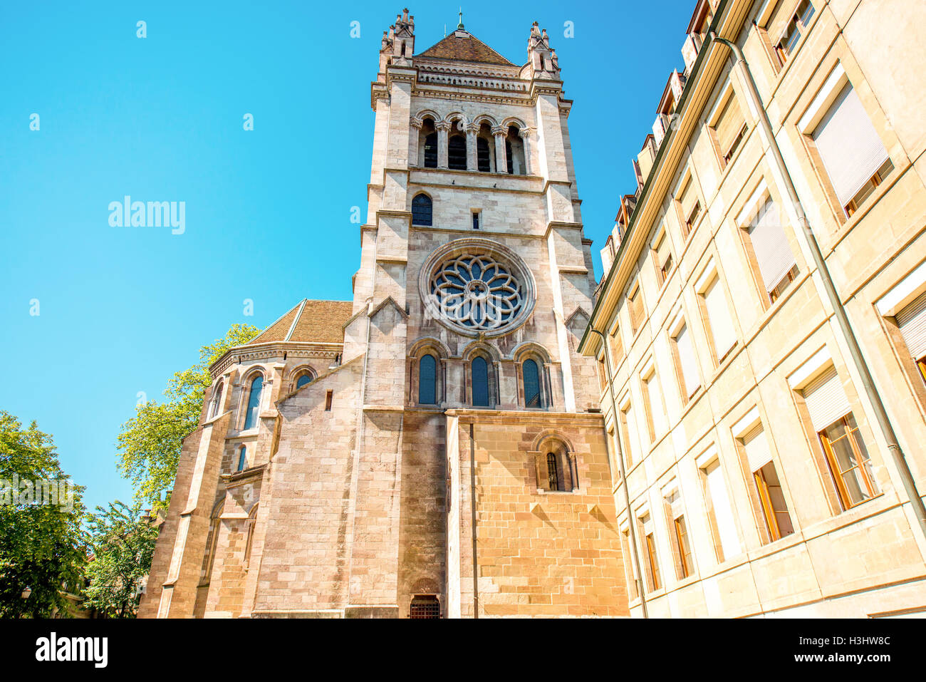 Geneva old town - Stock Image