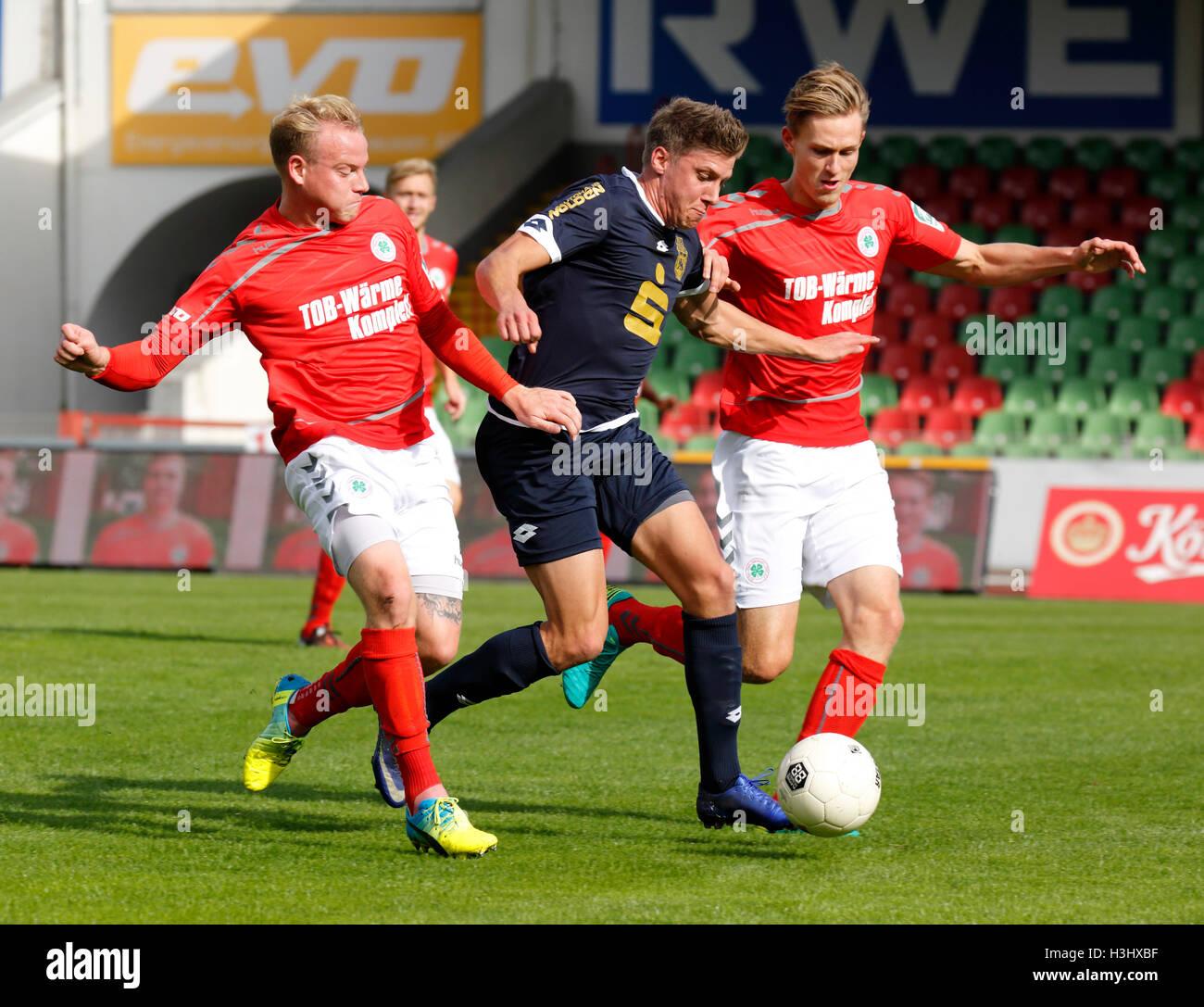 sports, football, Regional League West, 2016/2017, Rot Weiss Oberhausen versus Bonner SC 5:1, Stadium Niederrhein - Stock Image