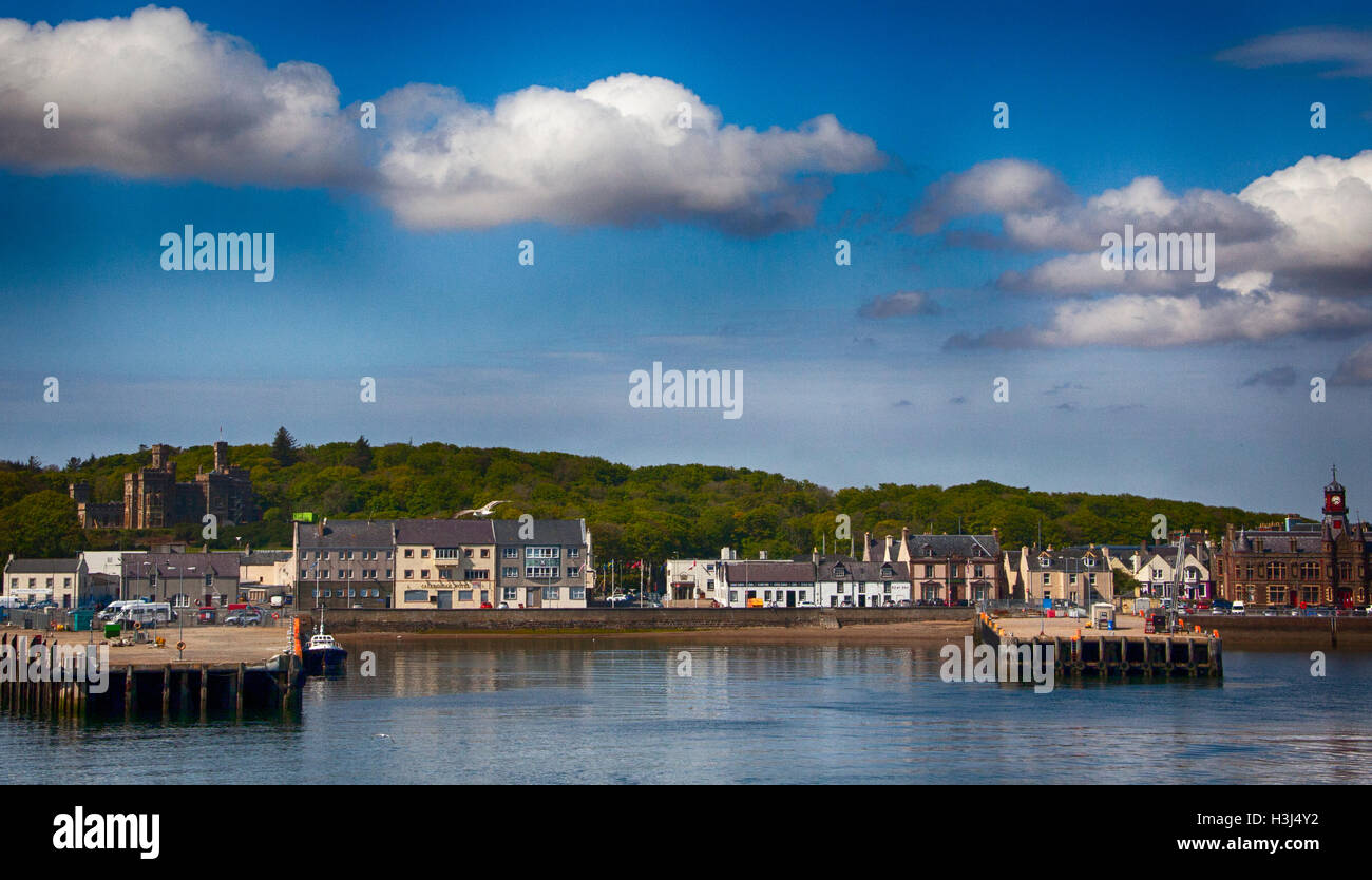 Stornoway Quayside - Stock Image