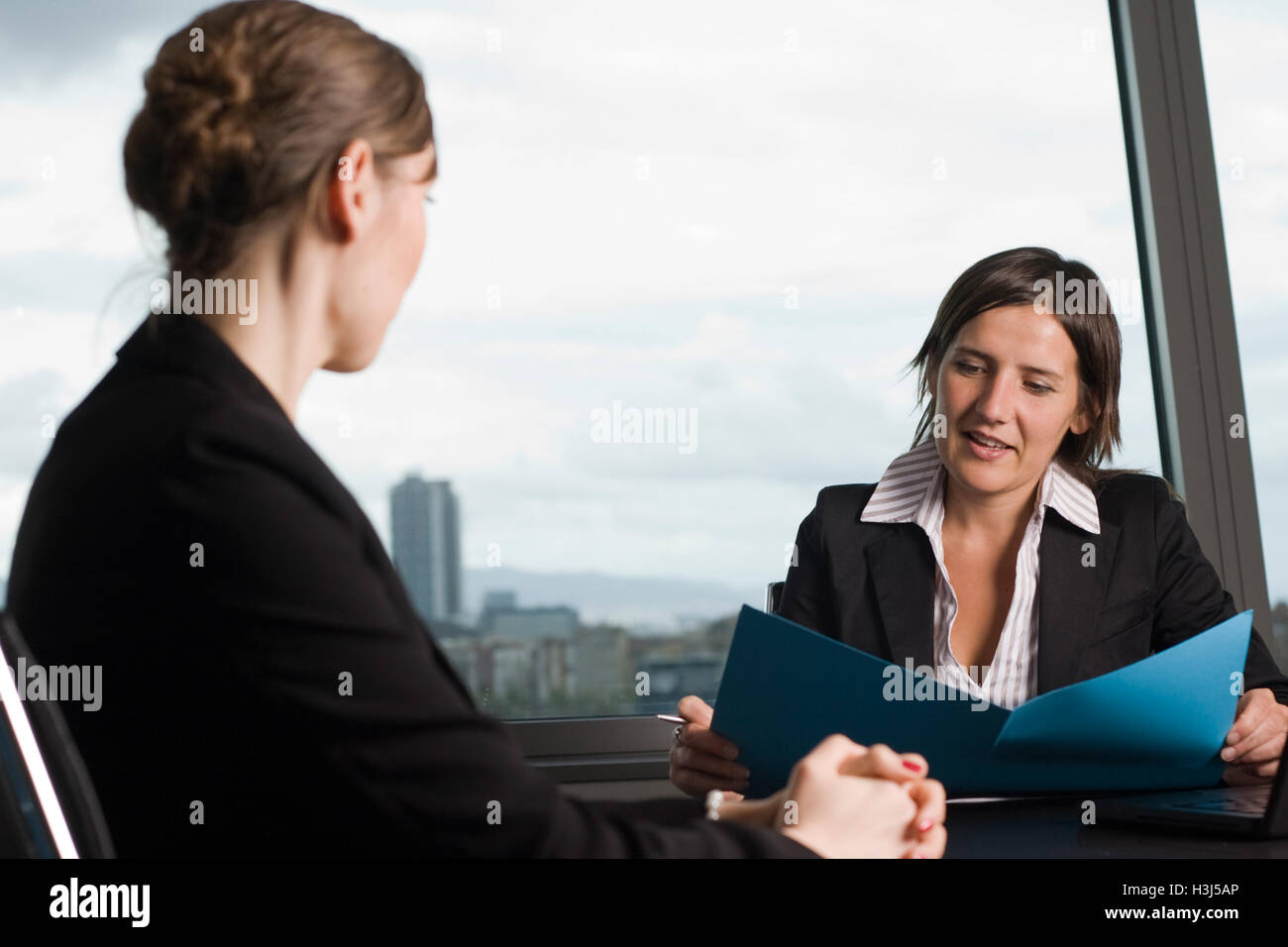 Business interview - Stock Image