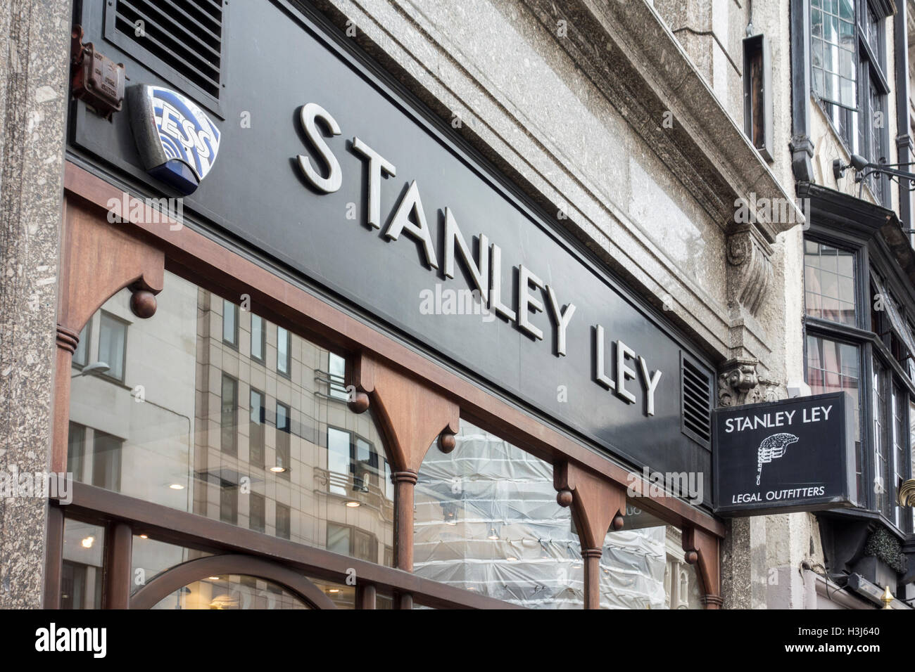 Stanley Ley, Legal Outfitters, City of London, UK - Stock Image