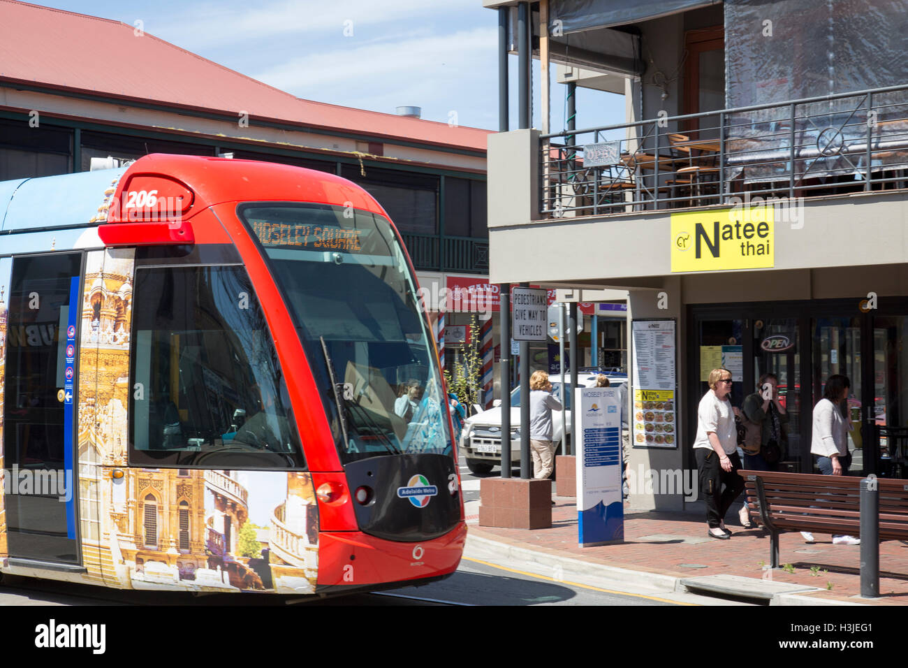 how to catch a tram in adelaide
