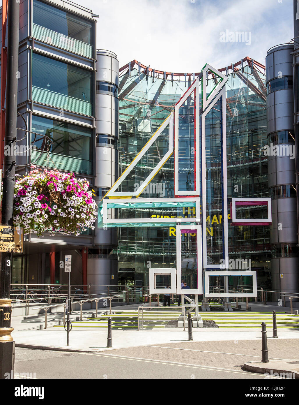 Channel Four Television Studios - Stock Image