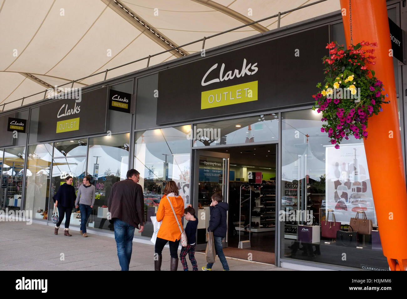 Clarks Outlet High Resolution Stock