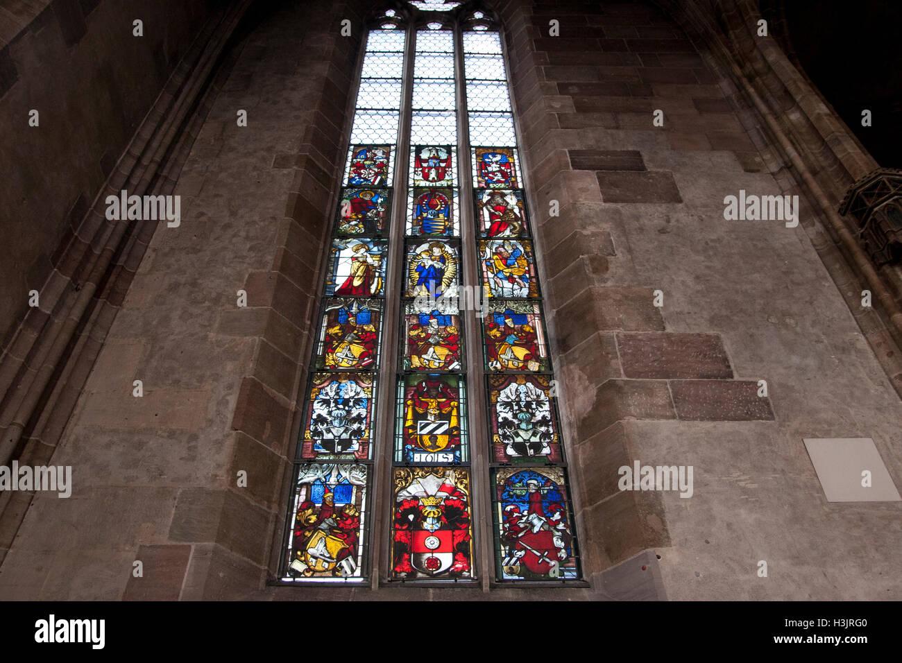 Frauenkirche Nuremberg Germany Stock Photo