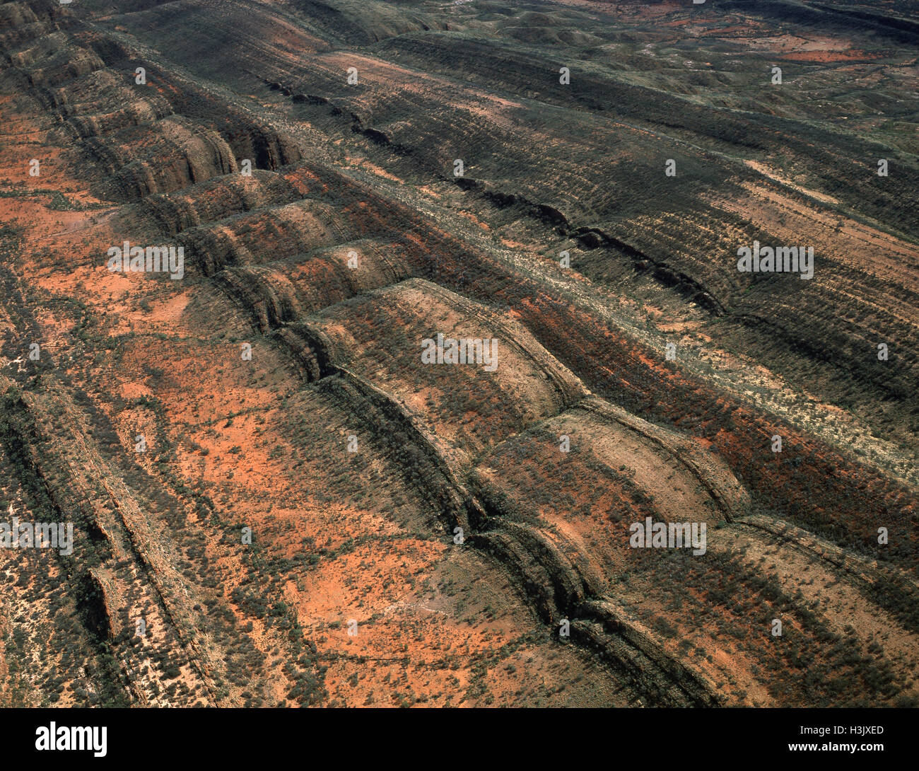 MacDonnell Ranges, - Stock Image