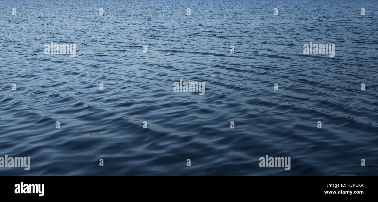 Surface of the water in tropical sea. - Stock Image
