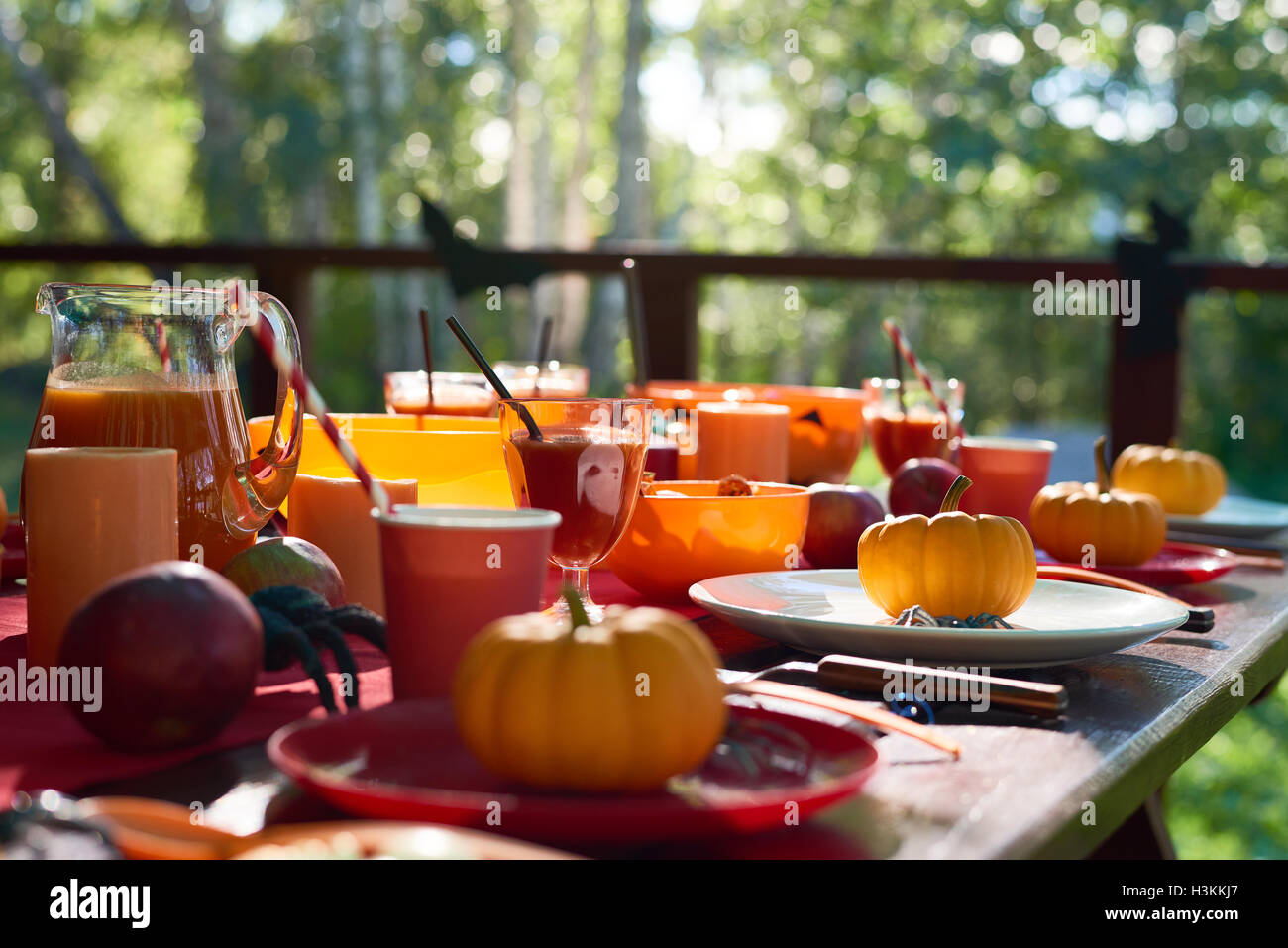 Halloween party - Stock Image