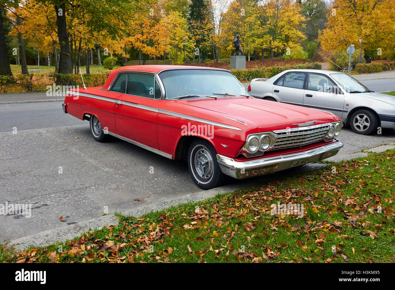 Impala Ss Stock Photos Images Alamy 1966 Chevy 2 Door 1962 Chevrolet Hardtop Image