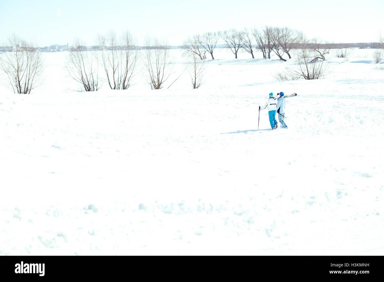 Ski race - Stock Image