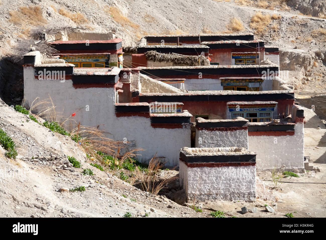 Gyangtse, Tibet - Stock Image