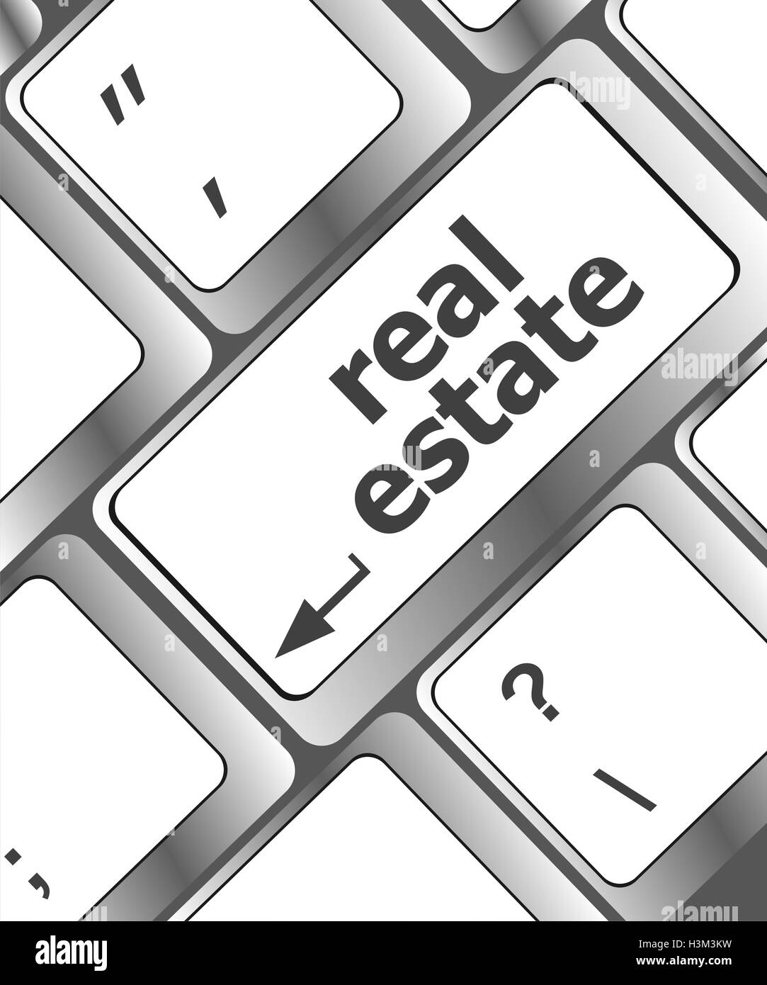 Real Estate Advertisement Black And White Stock Photos Images Alamy