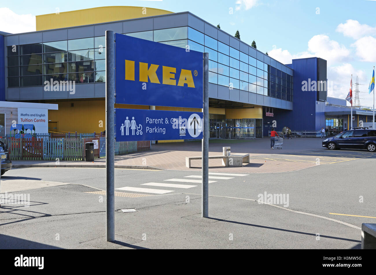 entrance ikea store stock photos entrance ikea store. Black Bedroom Furniture Sets. Home Design Ideas