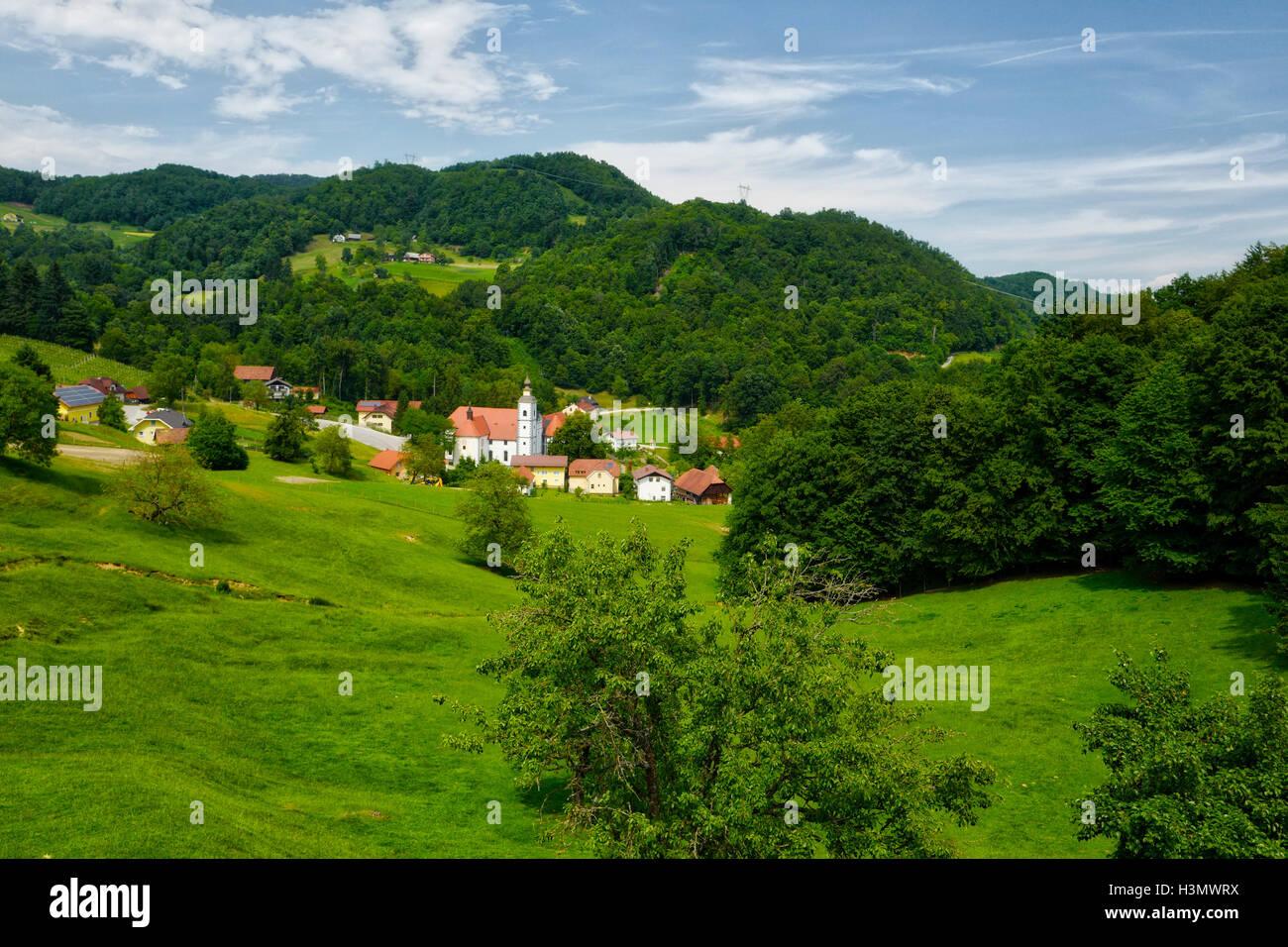 Podcetrtek Slovenia - Stock Image